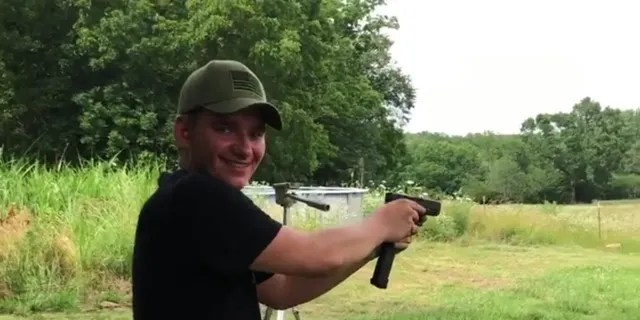 Andreychenko posted several videos to his now-private Instagram account where he's seen firing several guns.