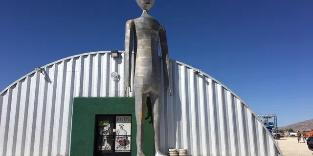 The Alien Research Center in Hiko, Nev.