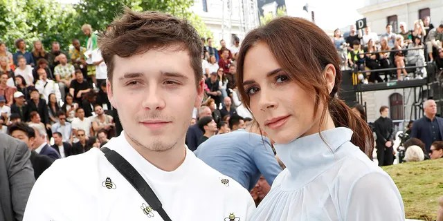 Bertrand Rindoff Petroff/Getty Imagesictoria Beckham and her son Brooklyn Beckham attend the Dior Homme Menswear Spring/Summer 2019 show as part of Paris Fashion Week on June 23, 2018 in Paris, France.
