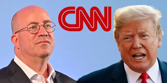 CNN Worldwide President Jeff Zucker has a longstanding feud with President Trump.