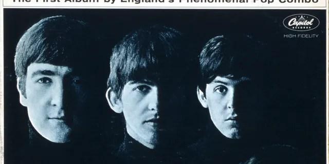 (L-R) John Lennon, George Harrison, Paul McCartney, Ringo Starr. Photographed byRobert Freeman