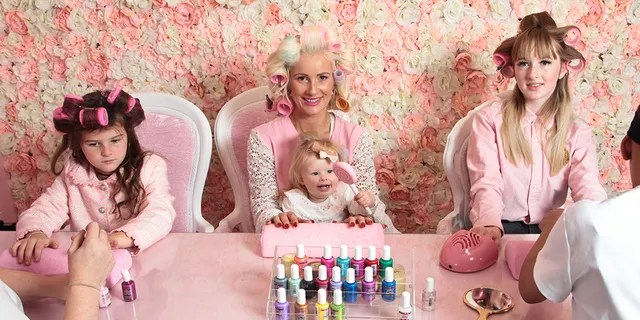 "One glamorous mom in the U.K. doesn't mind spending big at the beauty salon each month to ensure that she and her three daughters can feel like their most ""fabulous"" selves."