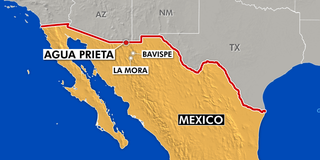 The Agency for Criminal Investigation said in a statement on Facebook the suspect was found in the town of Agua Prieta, right across the border from Douglas, Arizona. The suspect was holding two hostages who were bound and gagged inside a vehicle.<br>