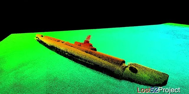 The USS Grayback sank with the loss of her 80-strong crew. (Ocean Outreach/Lost 52 Project/YouTube)