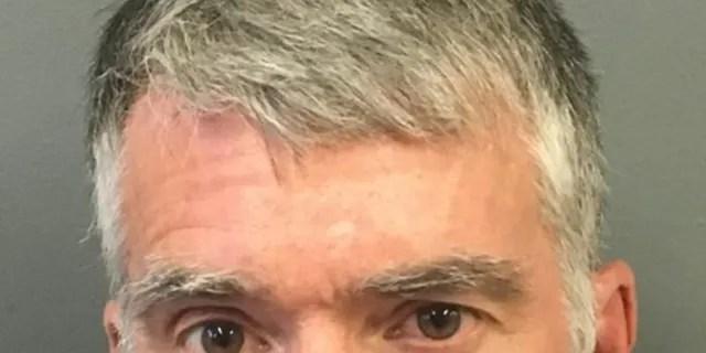 Mugshot for ex-detective Brian Fanion, 55.