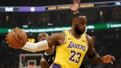 James misses 1st game of season for Lakers