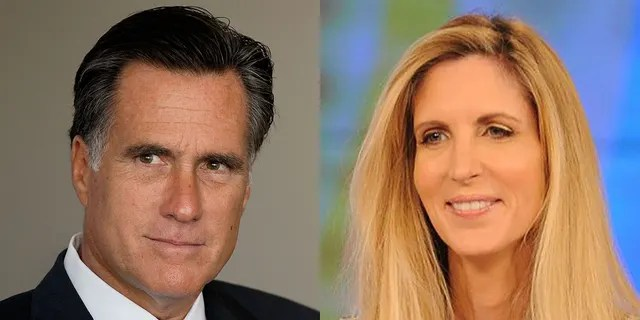 Fox News Today: U.S. Sen. Mitt Romney, R-Utah, was on the receiving end Saturday night of one of the latest Twitter barbs from conservative writer Ann Coulter.