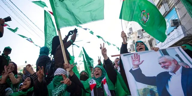 Hamas, which controls the Gaza Strip, has been designated by the U.S. as a terrorist group.
