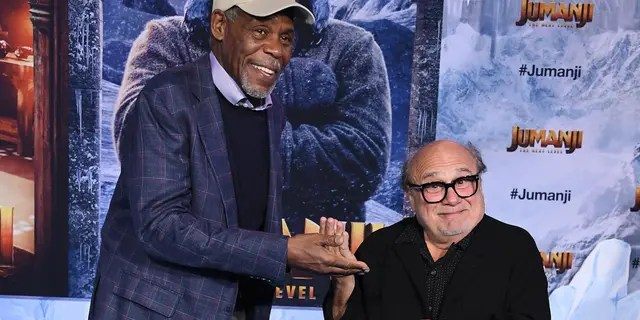 "Danny Glover and Danny DeVito star as grandparents in ""Jumanji: The Next Level."" (Photo by Steve Granitz/WireImage)"