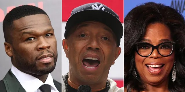50 Cent and Russell Simmons aren't happy with Oprah Winfrey.
