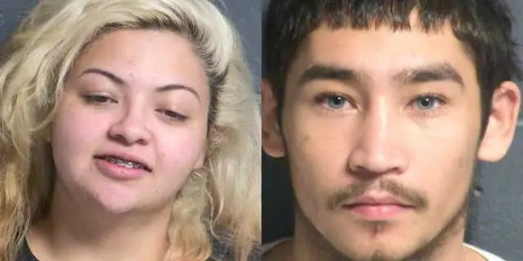 "Police say Marin, 22, and accomplice Angelo Rey Espinosa, 19, were apprehended ""within minutes"" of the crime."