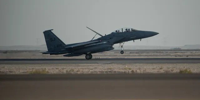 U.S. Air Force F-15 jet fighters carried out the strikes, two U.S. defense officials told Fox News.