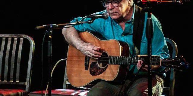 David Olney, seen here performing in Denver in 2015, died after suffering a heart attack Saturday. (Larry Hulst/Michael Ochs Archives/Getty Images, File)