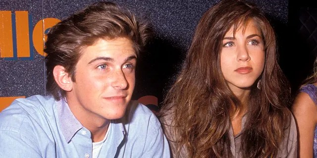 Jennifer Aniston dated her 'Ferris Bueller' co-star Charlie Schlatter.