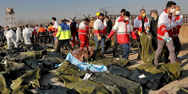 All 176 passengers and crew on board a Ukrainian jetliner died in a crash in Tehran, officials said. (Associated Press)