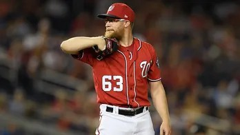 Whiff: Nats closer Doolittle calmed by lavender oil on glove