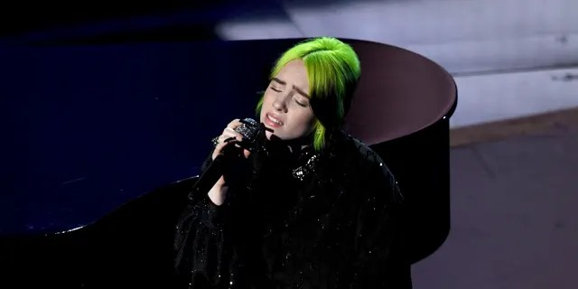 The artist's 'mullet' hairstyle featuring bright green highlights was actually a mistake, she revealed in 2019.