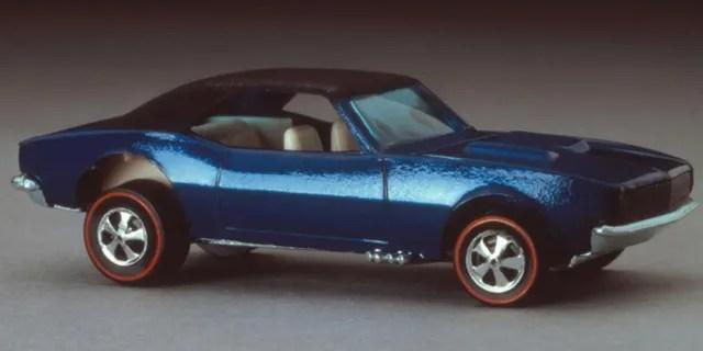 "The 1968 Custom Camaro was one of the original ""Sweet 16"" Hot Wheels cars."