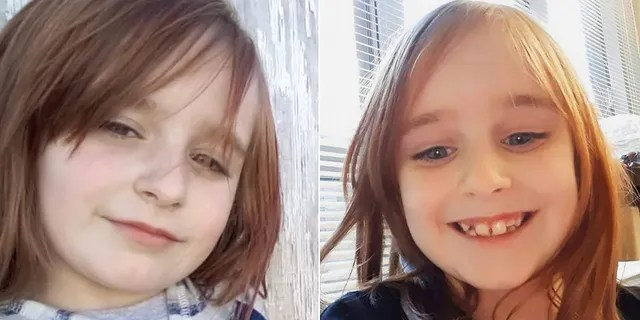 Investigators are circulating pictures of Faye in an effort to aid their search. The left photo is about the length of Faye's hair now, police said.