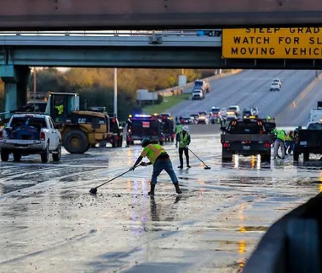 Massive Houston Water Main Break Floods Roadways Water Advisories