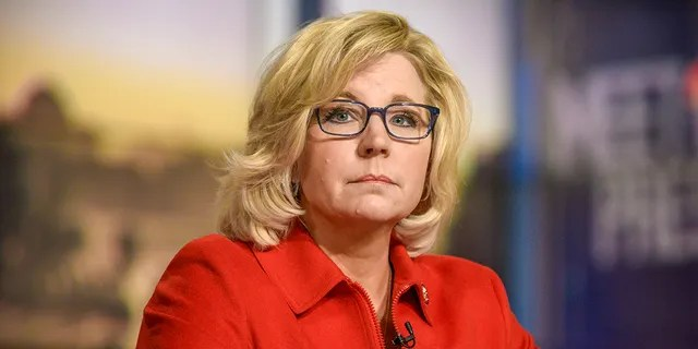 Rep. Liz Cheney, R-Wyo., was the target of a Twitter attack by President Trump Friday. He also went after Senate Majority Leader Mitch McConnell, R-Ky., and Georgia Gov. Brian  Kemp. (Photo by: William B. Plowman/NBC/NBC NewsWire via Getty Images)