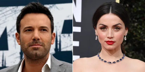 Ben Affleck and Ana D'Armus broke up after almost a year of dating.  (Getty / ap, file)