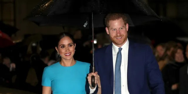 Meghan, Duchess of Sussex and Prince Harry, Duke of Sussex attend the Endeavor Fund Awards at Mansion House on March 5.