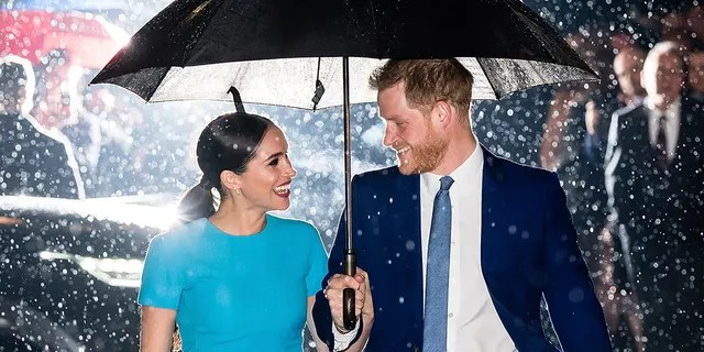 Prince Harry, Duke of Sussex and Meghan, Duchess of Sussex attend the Endeavor Fund Awards at Mansion House on March 05, 2020 in London, England.