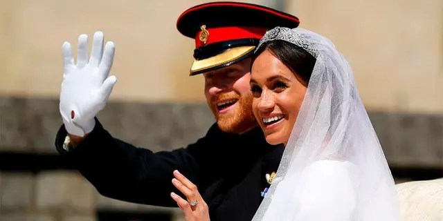 Meghan Markle, an American actress, became the Duchess of Sussex when she married Britain's Prince Harry in May 2018.