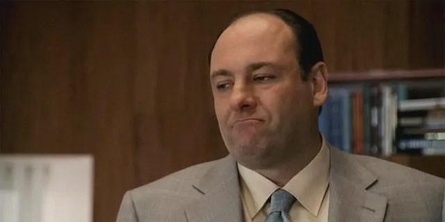 James Gandolfini as Tony Soprano in the HBO series.