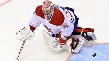 Canadiens' Carey Price makes incredible stick save as Habs fall to Flyers in Game 1