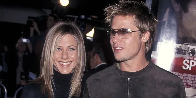 Jennifer Aniston and Brad Pitt were married for nearly five years until their split in 2005. (Photo by Ron Galella, Ltd./Ron Galella Collection via Getty Images)