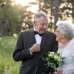 Nebraska couple celebrates 60 years of marriage with photo shoot in wedding outfits
