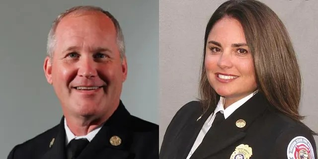 Oregon Fire Marshal Jim Walker resigned Saturday. Succeeding him is Chief Deputy Mariana Ruiz-Temple. (Office of the State Fire Marshal/Oregon State Police)