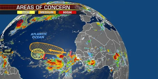 The next area being monitored for possible tropical development.
