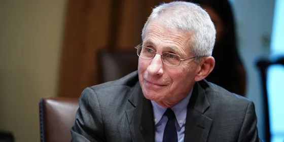 Fauci said he is looking forward to going