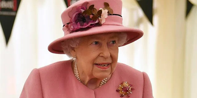 Queen Elizabeth II during her most recent public appearance at Porton Down science park on October 15, 2020. (Photo by Ben Stansall - WPA Pool/Getty Images)