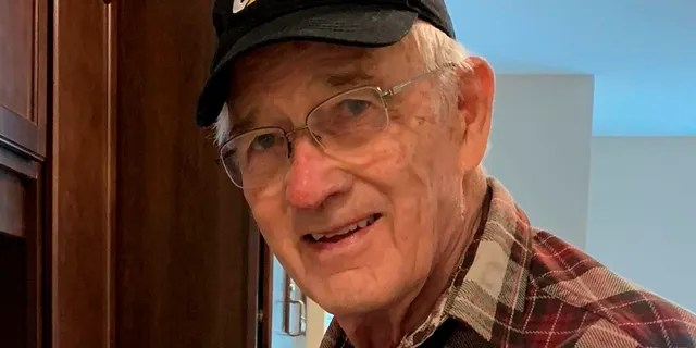 This April 17, 2020, photo provided by June Linnertz shows her father, James Gill, who died of Lewy Body Dementia, according to a copy of his death certificate provided to the AP.