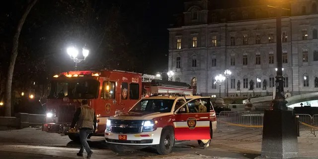 Canada. Police in Quebec City early Sunday arrested a man on suspicion of killing two people and injuring five others in a stabbing rampage near the provincial legislature on Halloween.