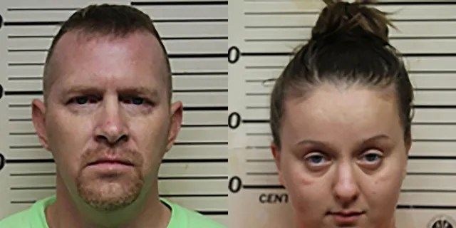 Ethan Mast, left, and Kourtney Aumen belong to the same church as the victim's family, police say. (Benton County Sheriff's Department)
