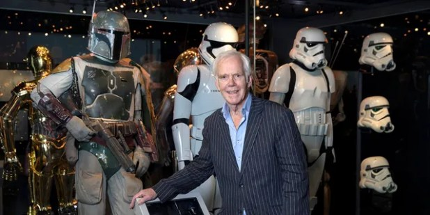 Jeremy Bulloch was known for playing the role of Boba Fate in the 'Star Wars' films.  (Photo by John Phillips / Getty Image)
