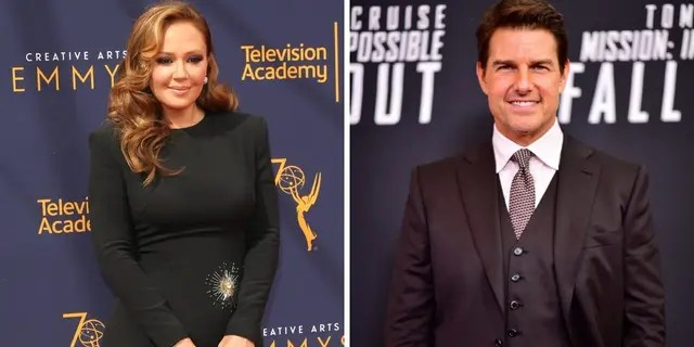 Leah Remini is speaking out on Tom Cruise's reported COVID-19 outbursts.