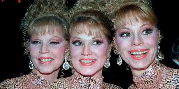 McGuire Sisters, from left: Christine, Phyllis and Dorothy.  (Associated Press)