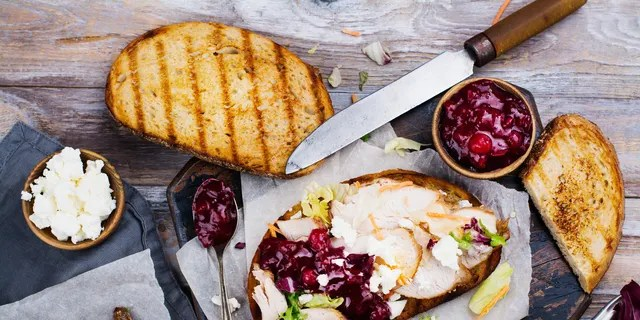The U.K.'s largest supermarket chain calls the savory sandwich a Boxing Day favorite, it sounds sounds just as good stateside, too.