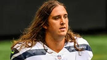 NFL lineman Chad Wheeler seen in new arrest footage after alleged assault on ex-girlfriend