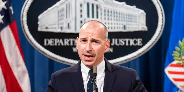 Acting U.S. Attorney Michael Sherwin speaks during a news conference Tuesday, Jan. 12, 2021, in Washington.