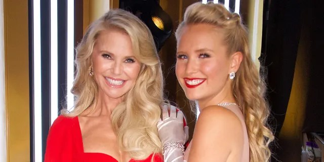 Christy Brinkley was replaced by her daughter, Sailor Brinkley-Cook, after an injury left her unable to compete on 'Dancing With the Stars' in 2019. (Eric McCandless via Getty Images)
