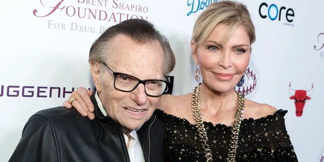 Sean King, widow of Larry King, has filed a petition requesting her to appoint an administrator of her late husband's estate.  (Photo by Greg Doherty / FilmMagic)