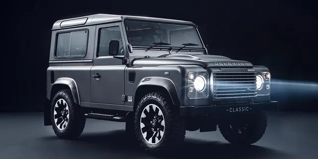 The previous Defender was a body-on-frame truck.