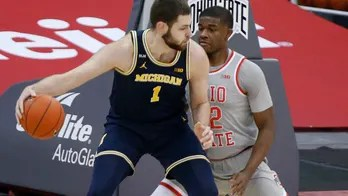 Dickinson's 22 lifts No. 3 Michigan over No. 4 Ohio St 92-87